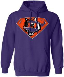 We Are Undefeatable The Cincinnati Bengals x Superman NFL Hoodie