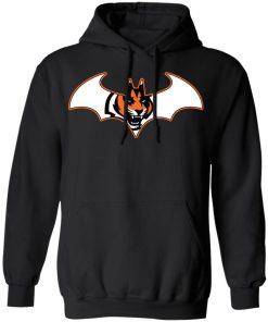 We Are The Cincinnati Bengals Batman NFL Mashup Hoodie
