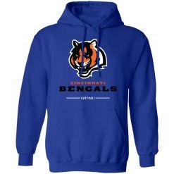 Cincinnati Cengals NFL Pro Line Black Team Lockup Hoodie
