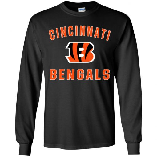 Cincinnati Bengals NFL Pro Line Gray Victory Youth LS T-Shirt