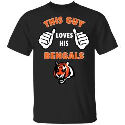 This Guy Loves His Cincinnati Bengals NFL Youth T-Shirt