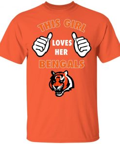 This Girl Loves Her Cincinnati Bengals NFL Youth T-Shirt