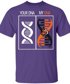 My DNA Is The Cincinnati Bengals Football NFL Youth T-Shirt