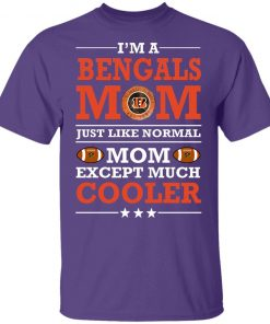 I'm A Bengals Mom Just Like Normal Mom Except Cooler NFL Youth T-Shirt