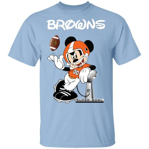 Private: Mickey Browns Taking The Super Bowl Trophy Football Men's T-Shirt