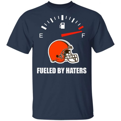 Private: Fueled By Haters Maximum Fuel Cleveland Browns Men's T-Shirt