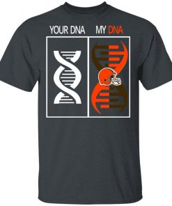 Private: My DNA Is The Cleveland Browns Football NFL Men's T-Shirt