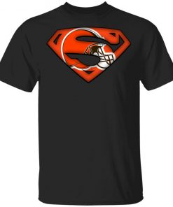 Private: We Are Undefeatable The Cleveland Browns x Superman NFL Men's T-Shirt