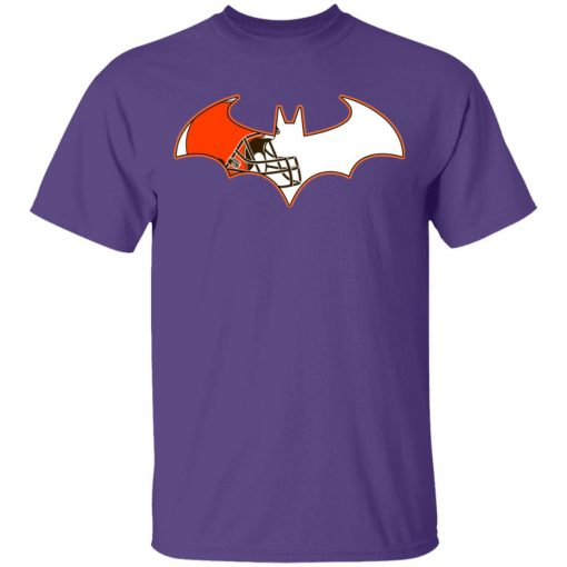 Private: We Are The Cleveland Browns Batman NFL Mashup Men's T-Shirt