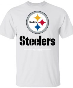 Private: Pittsburgh Steelers NFL Pro Line Black Team Lockup T-Shirt