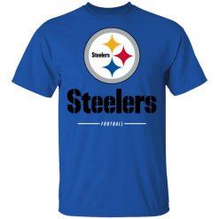Private: Pittsburgh Steelers NFL Pro Line Black Team Lockup T-Shirt