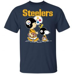Private: PITTSBURGH STEELERS Let's Play Football Together Snoopy NFL Men's T-Shirt